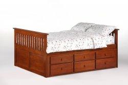 Captain Ginger's bed